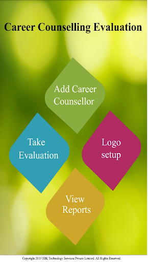 Career Counselling Evaluation