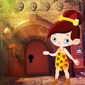 Stone Age Girl Rescue Best Escape Game-277