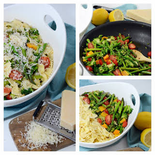 Spring Veggie Pasta Salad.
