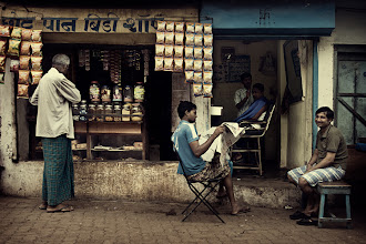 """Photo: The first image from my new collection, """"The Mumbai Chapter"""". A relaxed early Sunday morning on the streets of Mumbai, India. www.michiel-delange.com  #streetphotography #streetphotographers"""