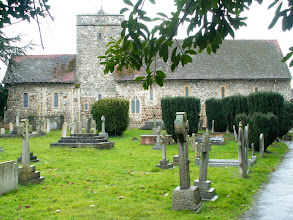 Photo: William Herschel is buried in this church at Upton near London