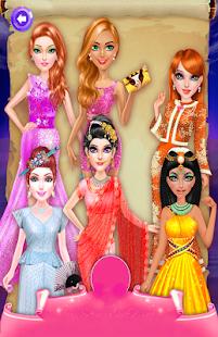 Kadeřnický celém světě dívky - náhled