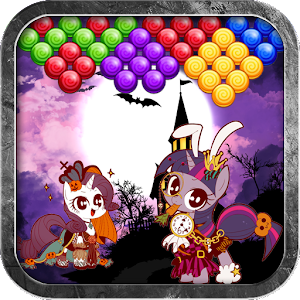 Pony Halloween Bubble Shooter v1.0 APK (Mod)