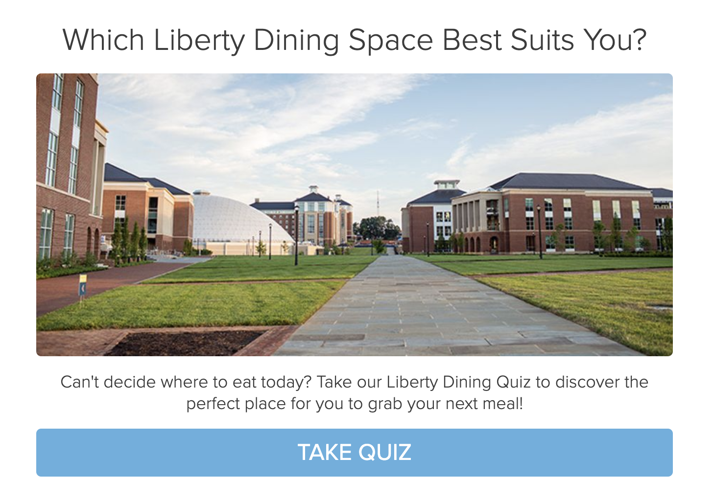 dining style quiz questioncover