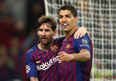Lionel Messi salue Luis Suarez et fracasse la direction du Barça