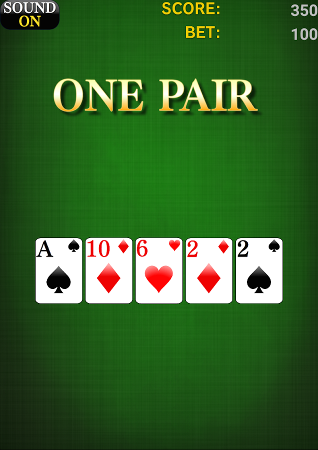 Poker [card game]- screenshot