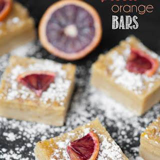 Blood Orange Bars