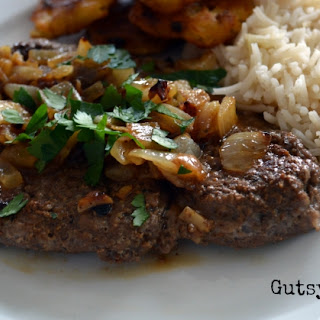 Garlic and Lime Marinated Cube Steak