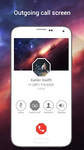 HD Galaxy Phone 8 i CallScreen - náhled