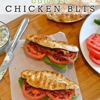 Bunless Paleo Chicken BLTs