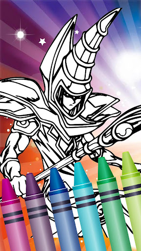 u2666ufe0f Colorbook for Yugi Duel Battle 1.5 screenshots 7