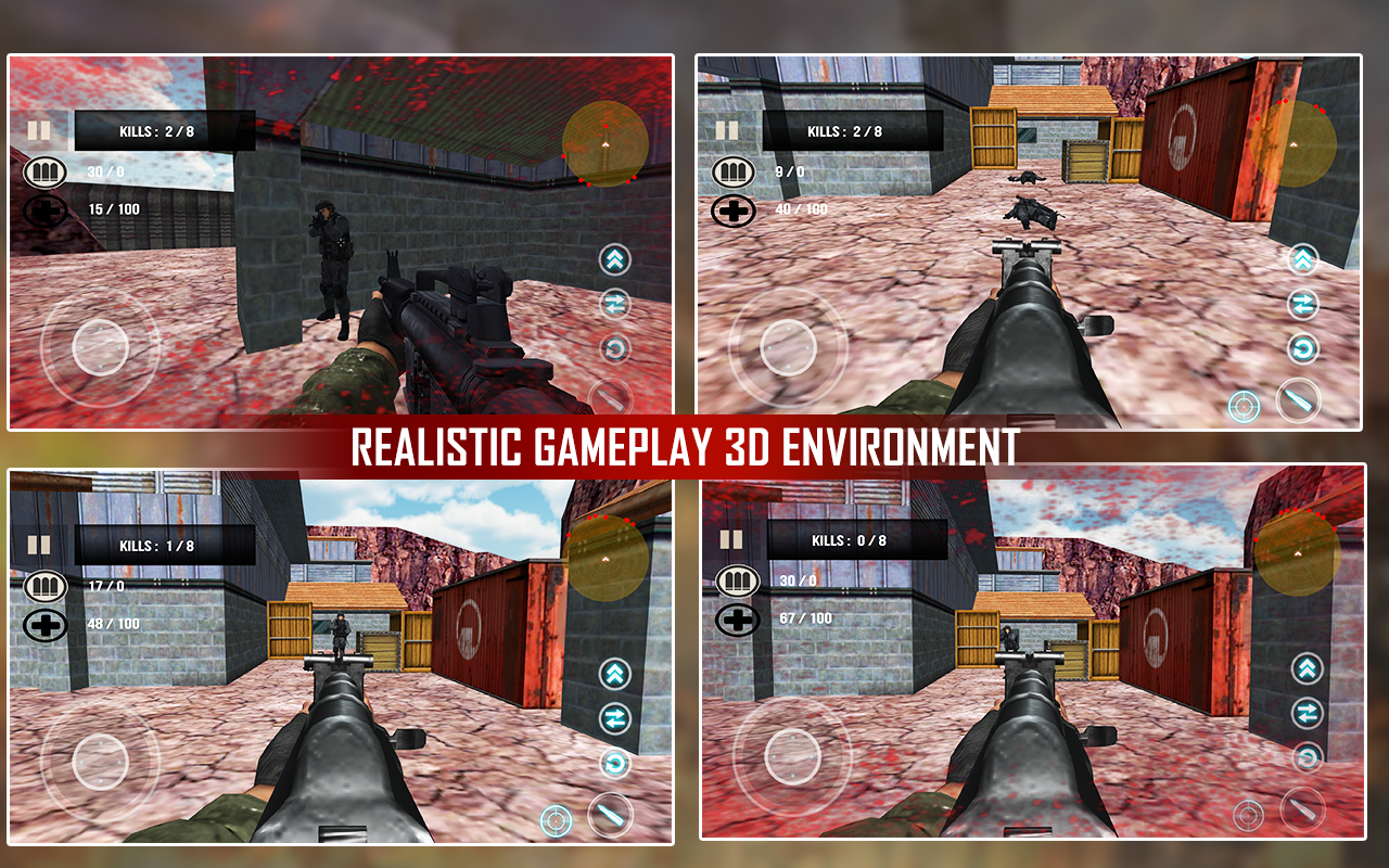 Counter Terrorist Attack War- screenshot