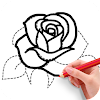 How To Draw Flowers APK Icon
