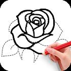 学画花朵 icon