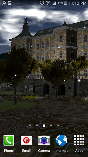 Beautiful Chateau 3d Lwp скачать на планшет Андроид