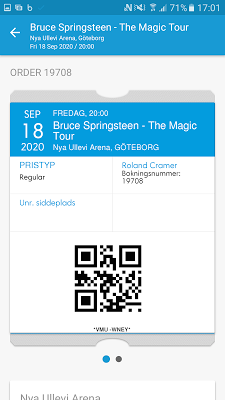 Ticketmaster Norge - screenshot