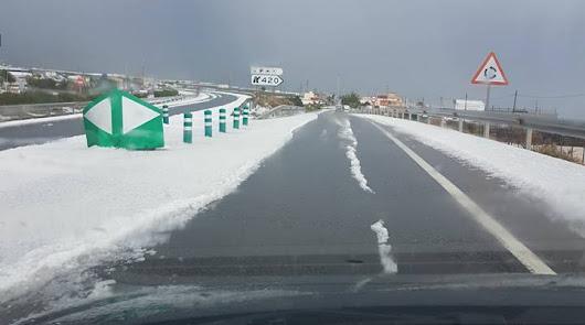 Mayo arranca con lluvia, granizo, nieve y bajas temperaturas