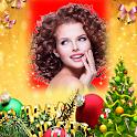 New Year Christmas 2020 Photo Frame icon