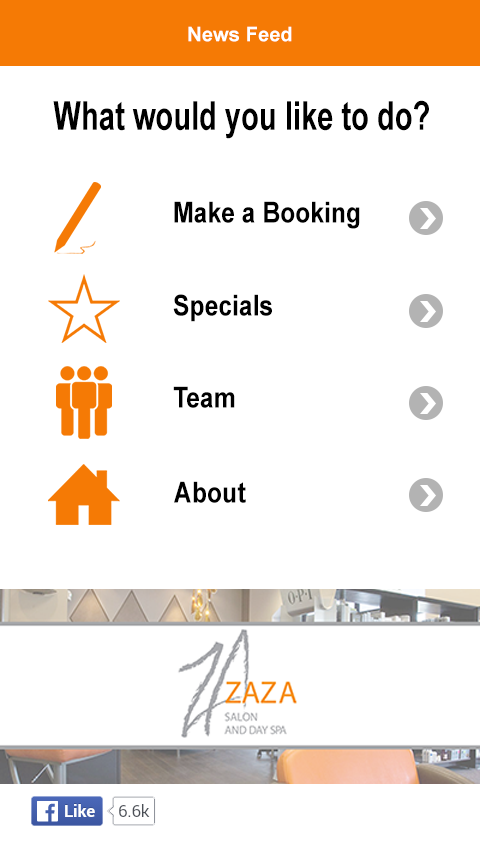ZaZa Salon and Day Spa- screenshot