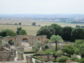 Photo: One day my class took a trip to see the ruins of Medina Azahara, a city built by the Arabs beginning in about 940. It was later destroyed in 1009.