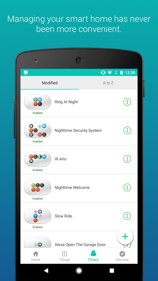 Stringify - Smart Home and IoT- screenshot