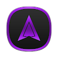 Annabelle Purple Icons icon