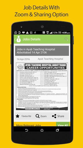 Pakistan Jobs - All Latest jobs in Pakistan 2018  screenshots 10