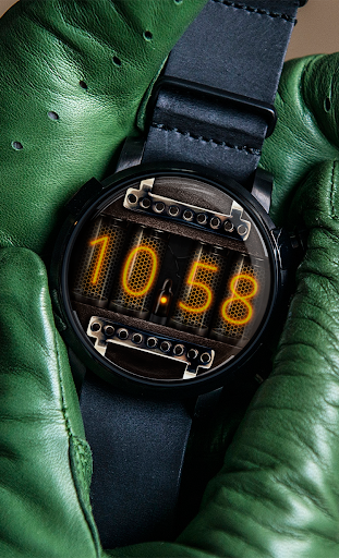 Watch Face Nixie Tubes
