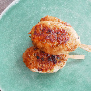 Chicken Tsukune.