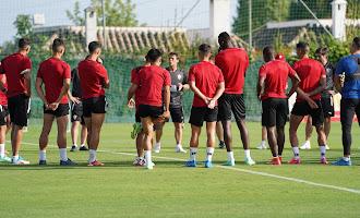 El Almería entrena en Marbella. Día 1