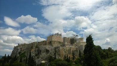 Photo: Cos sie Akropol zepsul