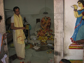 Photo: Chakla Dham (January 28, 2009) Pujari