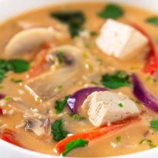 Vegan Thai Soup.