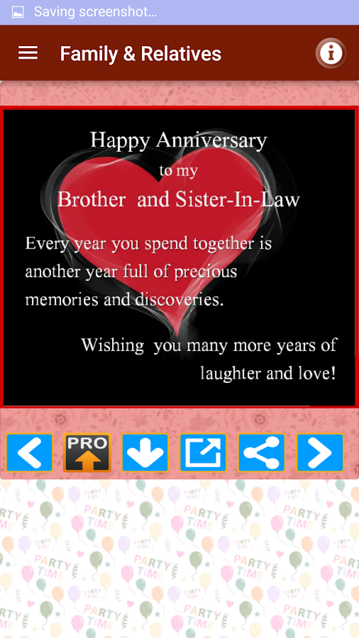 Marriage Anniversary Wishes Screenshot