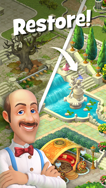 Gardenscapes - New Acres Screenshot Image