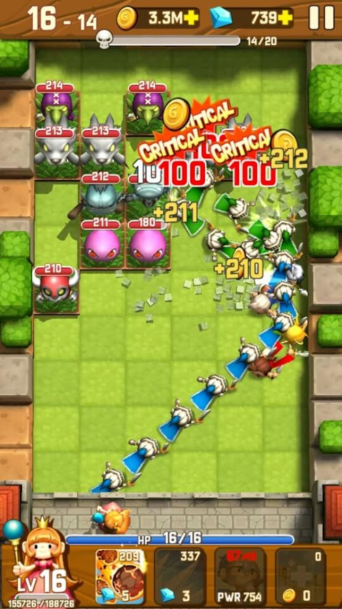 Screenshot 1 Monster Breaker Hero 7.6 APK MOD