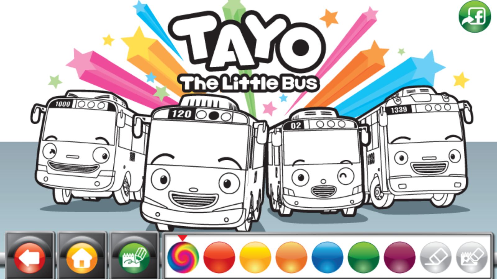 tayo the bus coloring pages - photo#10