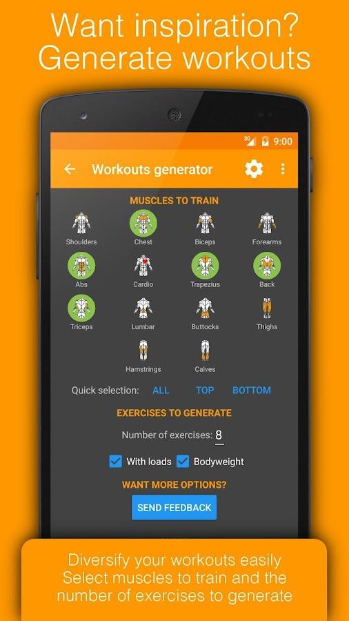 Workout Tracker & Gym Trainer