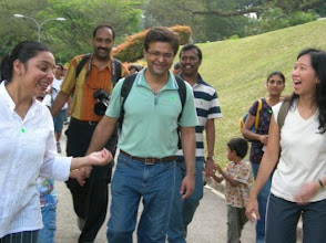 Photo: Why are you laughing our teachers, Alice and Nidhi? Hum, you are really having a nice time.