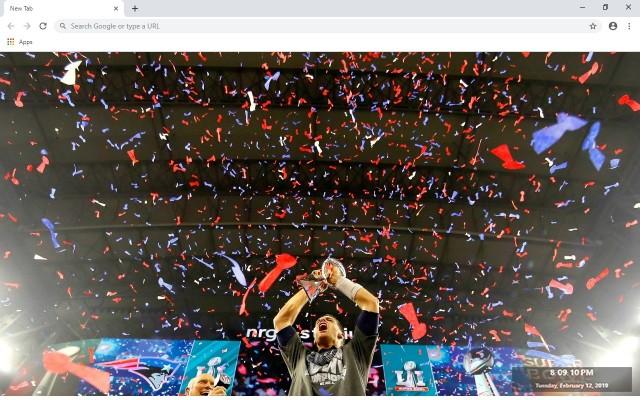 Super Bowl de la NFL en Nueva Pestaña