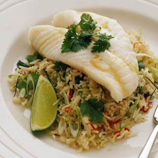 Lime and Lemongrass Pilaf
