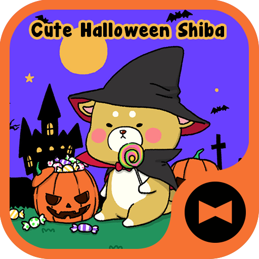 Dog Wallpaper Cute Halloween Shiba Theme Icon