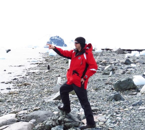 Greg Jacobson in Antarctica