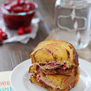 Cranberry Bacon Grilled Cheese.