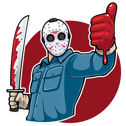 Scary and Horror Sticker for WhatsApp