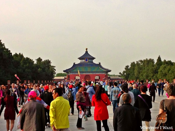 Temple of Heaven | Beijing | China | UNESCO | Crowd | Tour Group | Chinese Tour Group