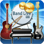 Band Live Rock (drum, bass, guitar, piano, mic) 3.2.3