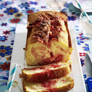 Strawberry Marshmallow Cake.