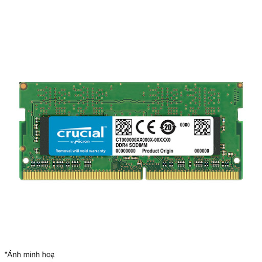 Bộ nhớ laptop DDR4 Crucial 4GB (2666) - CT4G4SFS8266