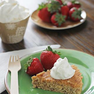 Cornmeal Butter Cake.